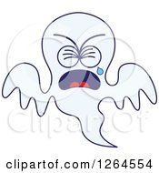 Sad Halloween Ghost Crying
