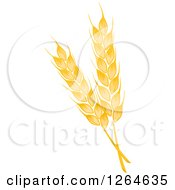 Clipart Of Whole Grain Ears Royalty Free Vector Illustration