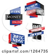 Clipart Of Retail Sales Icons Royalty Free Vector Illustration