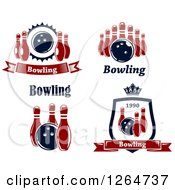 Poster, Art Print Of Bowling Designs