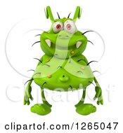 3d Green Germ