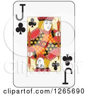 Jack Of Clubs Playing Card