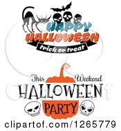Poster, Art Print Of Halloween Designs