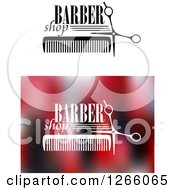 Clipart Of Barber Shop Designs Royalty Free Vector Illustration by Vector Tradition SM