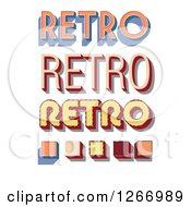 Retro Text Designs