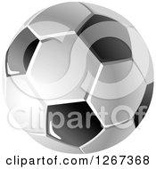 Grayscal Soccer Ball