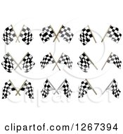 Checkered Racing Flag Designs
