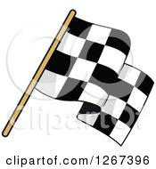 Checkered Racing Flag 2