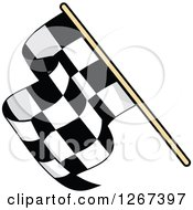 Checkered Racing Flag 3