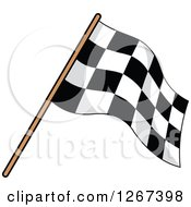 Checkered Racing Flag 4