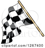 Checkered Racing Flag 5