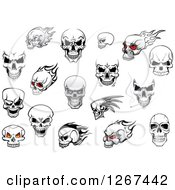 Poster, Art Print Of Human Skull Designs