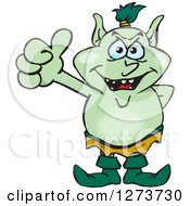 Happy Goblin Giving A Thumb Up