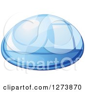 Clipart Of A Blue Droplet Of Water 12 Royalty Free Vector Illustration by Vector Tradition SM