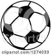 Black And White Soccer Ball 3