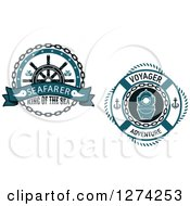 Clipart Of Life Buoy Nautical Designs Royalty Free Vector Illustration by Vector Tradition SM