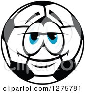 Blue Eyed Soccer Ball Character