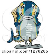 Happy Tuna Fish Standing