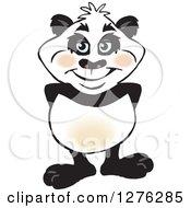 Happy Panda Standing