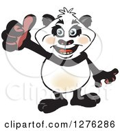 Happy Panda Giving A Thumb Up