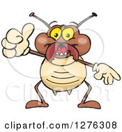 Happy Termite Holding A Thumb Up