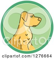 Clipart Of A Hunting Dog Icon Royalty Free Vector Illustration