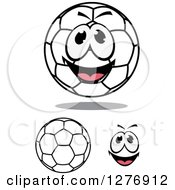 Soccer Balls And A Happy Face