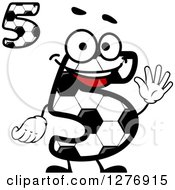Soccer Ball Number Fives