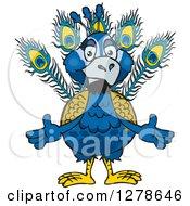 Welcoming Peacock