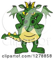 Green Dragon Standing