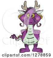 Purple Dragon Standing