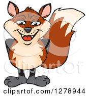 Happy Fox Standing