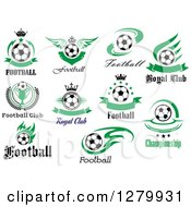 Soccer Football Sports Designs With Text