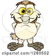 Happy Barn Owl