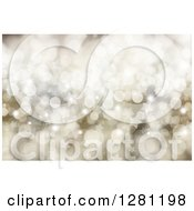 Clipart Of A Christmas Background Of Sparkle Flares And Stars Royalty Free Illustration