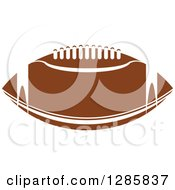 Brown Laced American Football