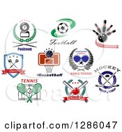 Poster, Art Print Of Sports And Text Designs