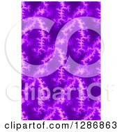 Seamless Background Of Purple Fractals