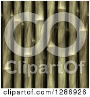 Clipart Of A Seamless Bamboo Stick Pattern Background Royalty Free Illustration by Arena Creative