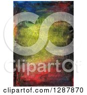 Clipart Of A Collage Of Newspapers And Texture Royalty Free Illustration