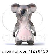 3d Happy Koala