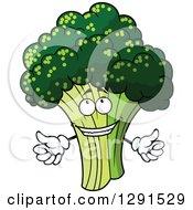 Welcoming Broccoli Character