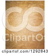 Clipart Of A Background Of Aged Paper With Creases Royalty Free Illustration