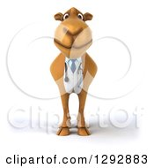 Clipart Of A 3d Doctor Veterinarian Camel Royalty Free Illustration by Julos