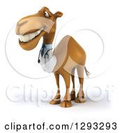 Clipart Of A 3d Doctor Camel Smiling And Facing Slightly Left Royalty Free Illustration