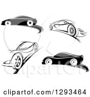 Black And White Sports Cars