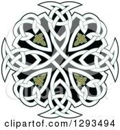 Celtic Knot Cross Design 2