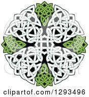 Celtic Knot Cross Design