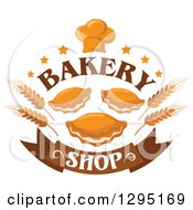 Clipart Of A Muffin And Pastry Bake Shop Design 2 Royalty Free Vector Illustration