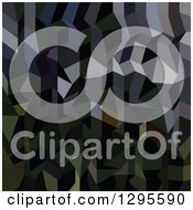 Clipart Of A Low Poly Abstract Geometric Camouflage Background Royalty Free Vector Illustration